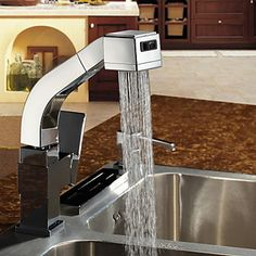 pull-out sink and faucet