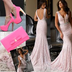 Pretty in Pink! Be the belle of the ball in #JOVANI style 22917