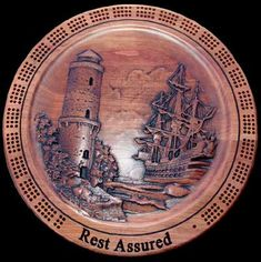 Lighthouse Cribbage Board  home decor by UniqueGiftsOfWood on Etsy, $74.99