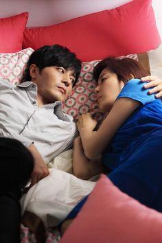 """120630 SBS """"A Gentleman's Dignity"""". Jang Dong Gun and Kim Ha Neul... so romance <3"""