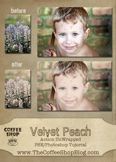 CoffeeShop Velvet Peach Action UnWrapped Tutorial!