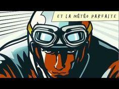 """Vidéo de la Sécurité routière dédié aux motard """"Quand la route est belle..."""""""