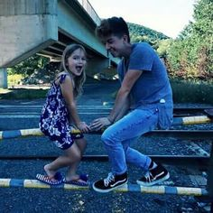 Jack Avery and his little sister Isla