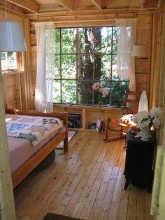 big windows. light wood.