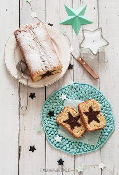 plumcake all'arancia con stella al cioccolato (2)