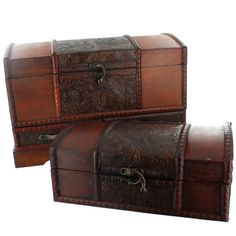 Decorative Boxes Storage Nest Of 3 Embossed Wooden Boxes £2495 #wood #storage #boxes #home
