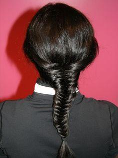 How to do a fishtail braid! http://www.bellasugar.com/How--Learn-Fishtail-Braid-2772862?slide=10