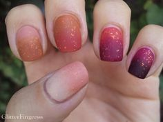 Fall Nail Challenge - Fall ombre