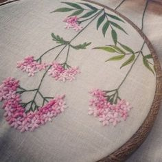 The Beauty of Japanese Embroidery - Embroidery Patterns Embroidery Flowers Pattern, Hand Embroidery Stitches, Silk Ribbon Embroidery, Hand Embroidery Designs, Embroidery Art, Cross Stitch Embroidery, Machine Embroidery, Embroidery Needles, Brazilian Embroidery
