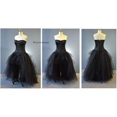 black corset dress-gothic prom-steampunk-prom-alternative... ($350) ❤ liked on Polyvore featuring dresses, gowns, corset prom dresses, plus size formal dresses, masquerade ball gowns, plus size evening dresses and plus size gowns
