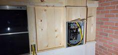 Electrical box in skoolie