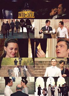 "A Chuck And Blair ... ""you said you never wanted us to be boring... Well we definitely aren't that now!"""
