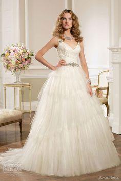 GORGEOUS WEDDING GOWNS 2013 &14 | Ronald Joyce 2013 Wedding Dresses | Wedding Inspirasi