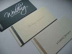 Cheque Book Wedding invitations with 3 different cover ideas