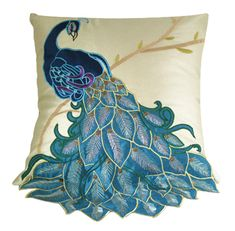 Cheap cushion for, Buy Quality cushion cover directly from China cushion cases Suppliers: Brand New Fashion Vivid Peacock Decorative Throw Pillow CaseFancy Cushion Cover Sham   Featu