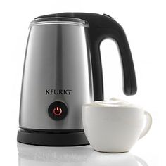 My hubby got me one of these for Christmas and I absolutely LOVE it!  Great for coffee and hot chocolate.
