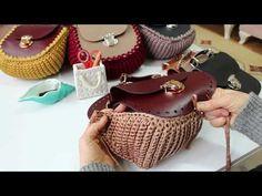 Leather Bag Tutorial, Leather Bag Pattern, Crochet Case, Diy Crochet, Purse Patterns, Crochet Patterns, Crochet Monokini, Love Knitting, Crochet Christmas Gifts