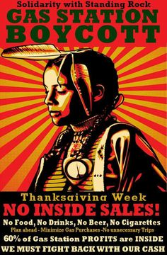 Solidarity with Standing Rock - will it help? I don't know, but it can't hurt.