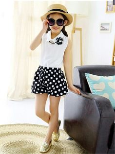 Cheap skirt pant, Buy Quality skirts band directly from China skirt orange Suppliers: 2015 Summer Toddler Girl Clothing Short Baby Girl Clothes Dot Chiffon Skirt With t-Shirt Clothing Se Baby Girl Frocks, Baby Girl Skirts, Frocks For Girls, Dresses Kids Girl, Toddler Girl Outfits, Baby Dress, Outfits Niños, Kids Outfits, Baby Girl Fashion