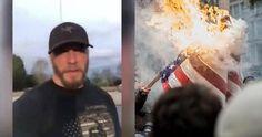 Veteran Responds to Flag Burning With Emotional Viral Video  #Veterans