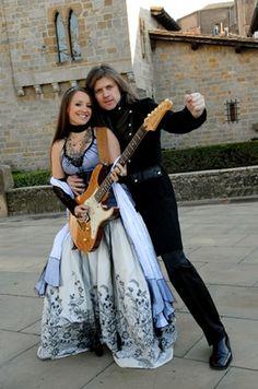 John Kelly and his wife Maite Itoiz