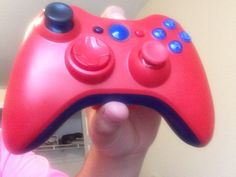 Red and blue controller I customized for myself