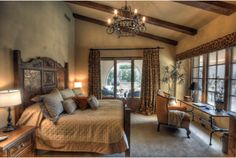Image result for tuscan bedroom
