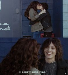 Rachel Shelley (Helena Peabody) and Kate Moennig (Shane McCutcheon). Hahaha!