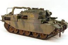 Centurion Armored Recovery Vehicle Mk.2 (1:35 Accurate Armour)