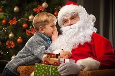 At first, the parents try to ignore the screaming man at the mall telling their children they've been lied to about Santa Claus. Then it becomes clear he's not going to stop