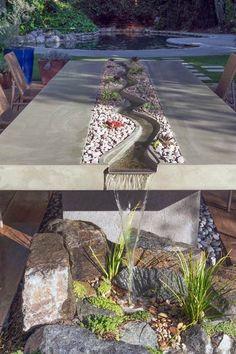 Pasadena Concrete Water Table