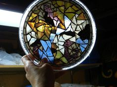 Stained Glass Mosaic Trivet :: Hometalk