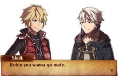 Fire Emblem: Fates- Fan-Made Shulk Amiibo Conversation