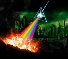 tribute Art to one of the best Albums of all time, The Dark Side of the Moon by Pink Floyd Classic Rock And Roll, Rock N Roll, Great Bands, Cool Bands, Musica Punk, Pink Floyd Art, Pink Floyd Albums, The Dark Side, Roger Waters