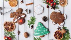 Świąteczne, Ciasteczka, Gałązki