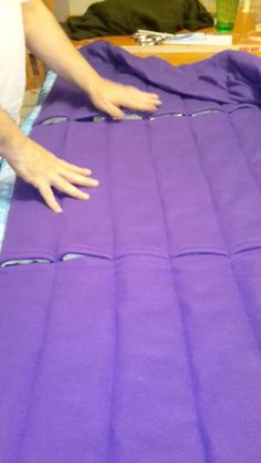 A Different Way to Make a Weighted Blanket