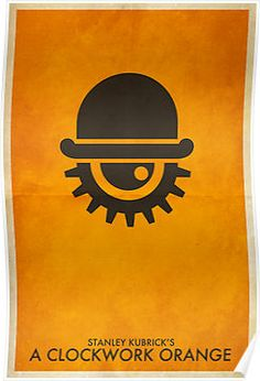 A Clockwork Orange Minimal Poster by timcostello