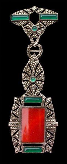 1925 Art Deco Brooch fashion love Klasické Šperky 09ced8344e7