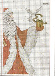 Gallery.ru / Фото #29 - 27 - ZinaidaR father christmas chart 2 of 4