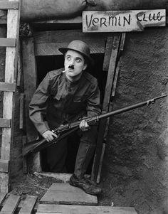 Charlie Chaplin, com
