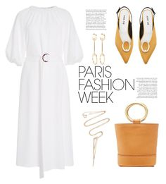 """""""Paris Fashion Week"""" by paculi ❤ liked on Polyvore featuring Simon Miller, Two of Most, Chloé, parisfashionweek and Packandgo"""