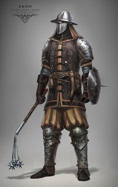 ArtStation - Knights, Max Yenin