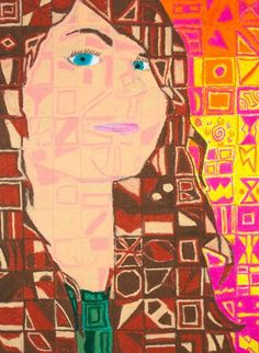 Chuck Close inspired Self-Portraits - Waunakee Community School District - Sophie Wagner-Marx
