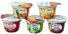 Try our Yoghurts made from real fruits in exotic flavours