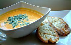 Qchenne-Inspiracje! FIT blog o zdrowym stylu życia i zdrowym odżywianiu. Kaloryczność potraw. : Energetyczny krem z marchewki ze świeżym imbirem