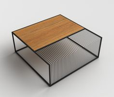Grill Table by Zeren Saglamer