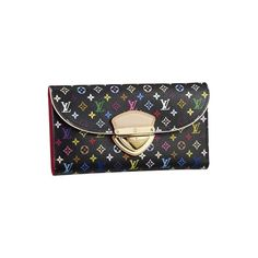 Louis Vuitton Eugenie Black Wallets