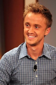 tom felton, he was at disney a day before i was! so unfortunate cause he's gorgeous