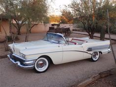 1958 BUICK SPECIAL CONVERTIBLE Maintenance/restoration of old/vintage vehicles: the material for new cogs/casters/gears/pads could be cast polyamide which I (Cast polyamide) can produce. My contact: tatjana.alic@windowslive.com