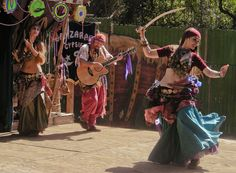 the romance of gypsies, dance, music, and their clothing.